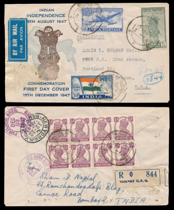 Lot 432 - india first day covers - folders and special covers -  Todywalla auctions Stamp Auction No. 6