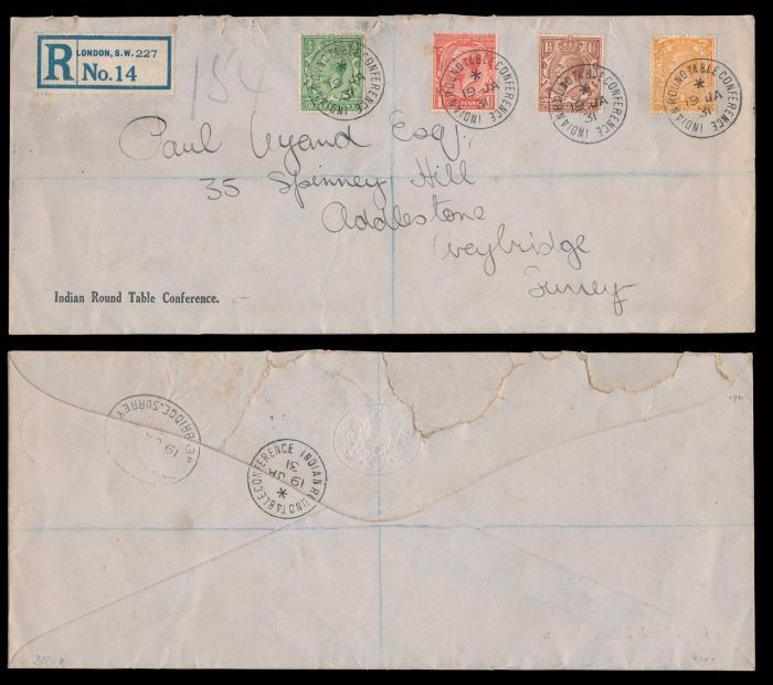 Lot 480 - india mahatma gandhi -  Todywalla auctions Stamp Auction No. 6