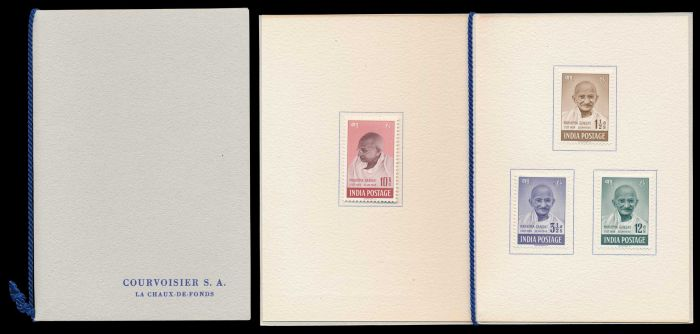 Lot 484 - india mahatma gandhi -  Todywalla auctions Stamp Auction No. 6