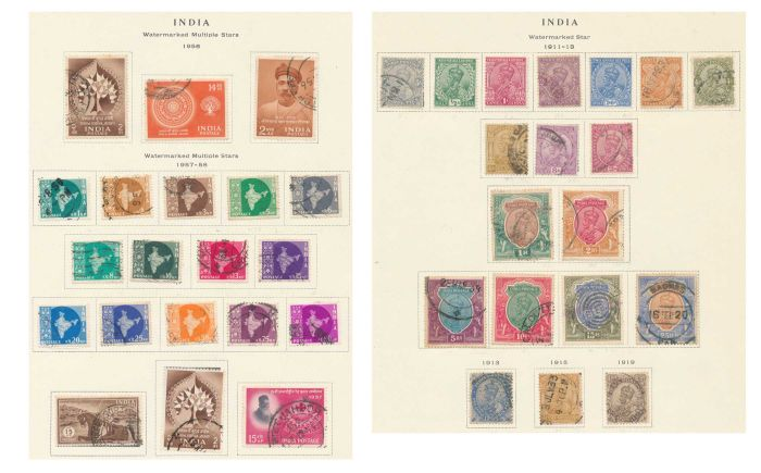 Lot 512 - india collections -  Todywalla auctions Stamp Auction No. 6