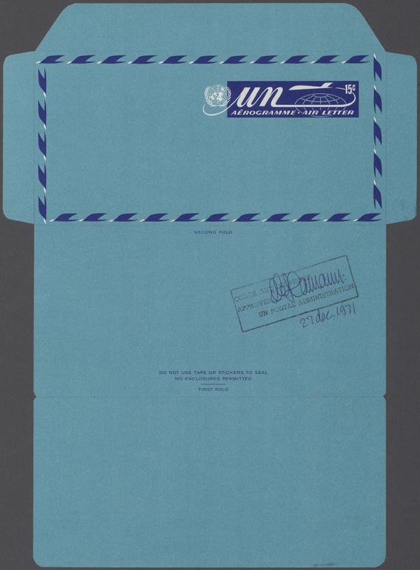 Stamp Auction - übersee vereinte nationen - 32nd International