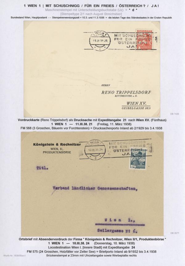 Stamp Auction Sammlungen Europa österreich Propaganda 33rd